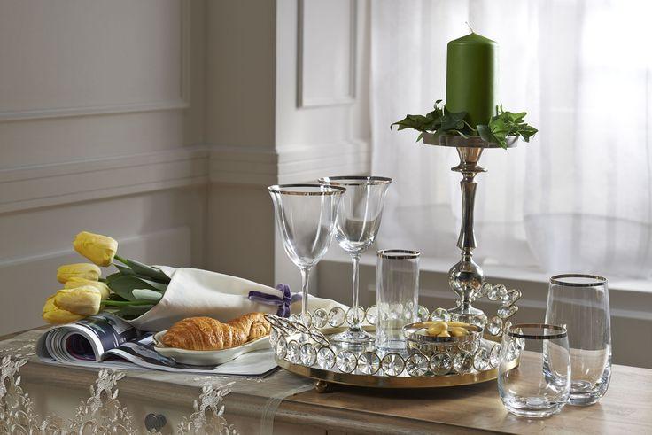 Gourmet Bardak Takımı / Glass Set #bernardo #tabledesign