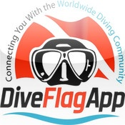 Dive Flag App by Dive Flag Dive Flag App facilitates the flow of communication between divers and dive shops – better connecting you with the worldwide diving community.  Divers can search for dive shops (by proximity, search criteria or view the top rated schools), view dive shop ratings, view dive related specials, search for and add new dive buddies, log dives (and tag friends in log book entries), view their dive history on maps, connect with Facebook and twitter and much more.