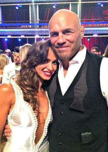 Karina Smirnoff & Randy Couture  -  Dancing With the Stars  -  Season 19  -  Fall 2014