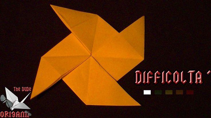 [ORIGAMI ITA] Girandola #2 || Origami Per Decorazioni/Per Bambini (E Non...