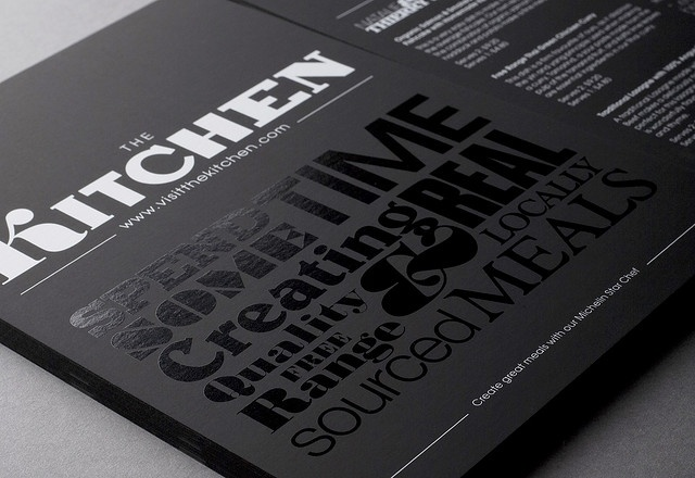 The Kitchen Flyer | Design Friendship, via Flickr.