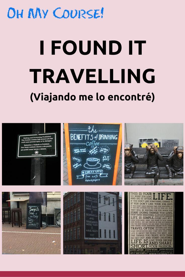 Aprender inglés viajando.