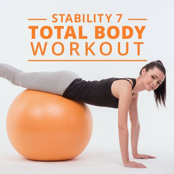 Stability 7 Total Body Workout! #SkinnyMs