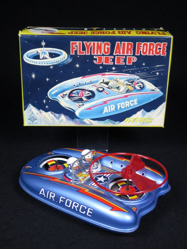 Daiya Flying Air Force Jeep
