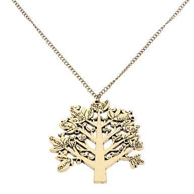 Life Tree Pendant Necklace – USD $ 2.99