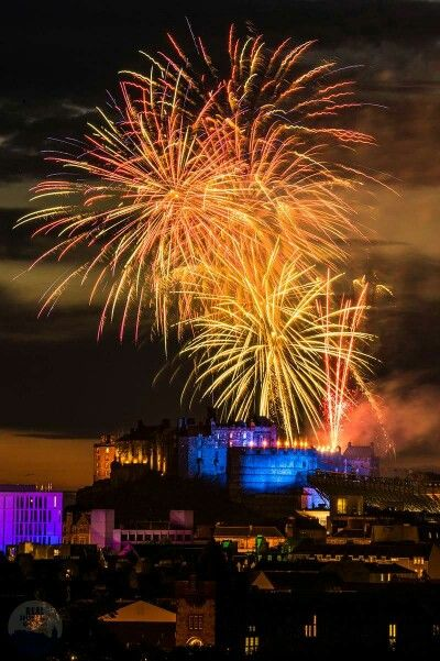 Edinburgh Tatoo fireworks