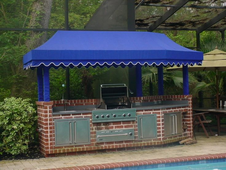 Custom BBQ Pits   custom bbq pit canopy side view bbq pit canopy with