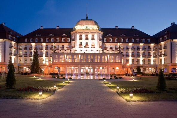 Grand Hotel Sopot  http://www.grandhotelsopot.com/most-viewed-sopot-hotel-deals/