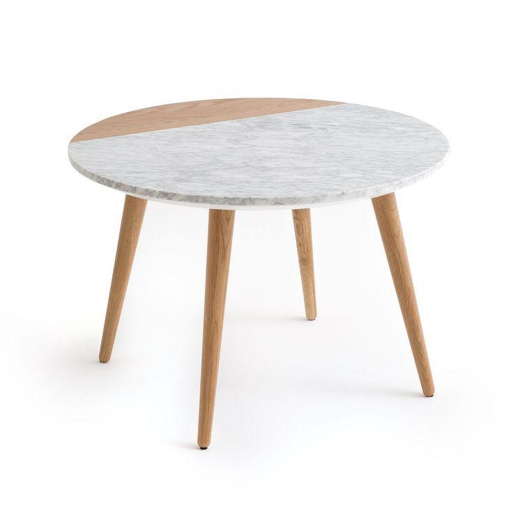 Table Basse Plateau Marbre Blanc Et Chene Crueso Taille Taille Unique Basse Blanc Chene Crueso Marbre Table Basse Marbre Marbre Blanc Table Basse