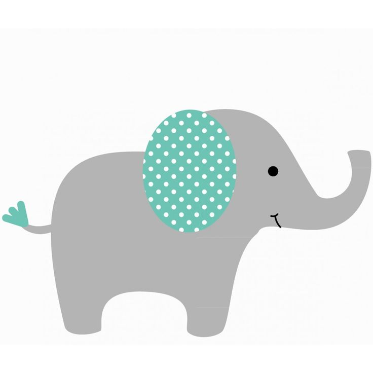 babies nursery elephant wall decal elephant baby showers baby elephant