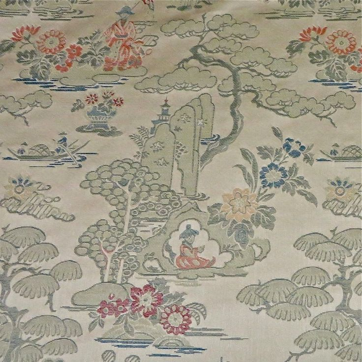 Luxurious Deceptively Durable Kravet Chinoiserie Jacquard Toile Upholstery/Bedding/Drapery Fabric