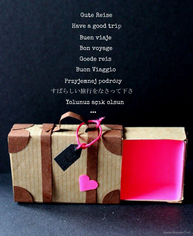House No. 15 | Geschenke, Geld und gute Reise… | http://houseno15.de