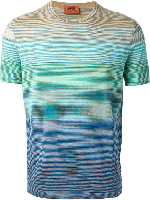 Missoni Psychedelic Striped T-shirt - Luisa World - Farfetch.com
