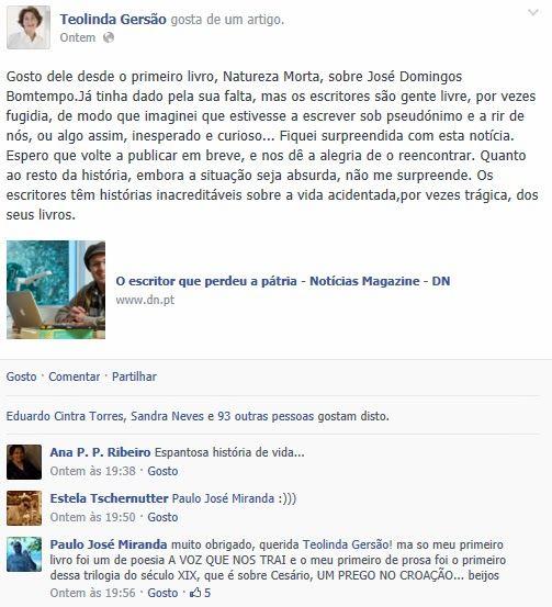 Mito de Sísifo: Paulo José Miranda - O Corpo de Helena. 1ª edição,...