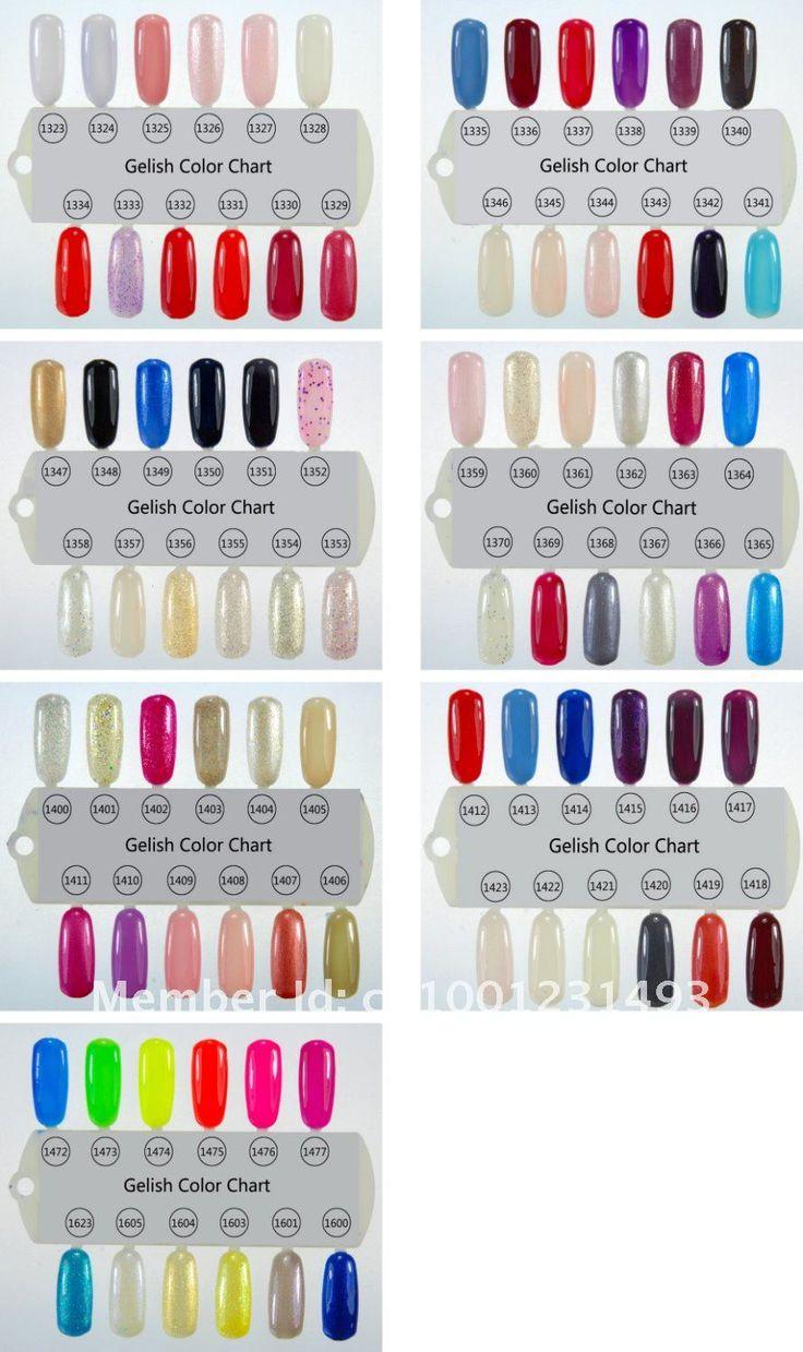 gelish color chart 84 pinterest designs pinterest colors polish and gel polish. Black Bedroom Furniture Sets. Home Design Ideas