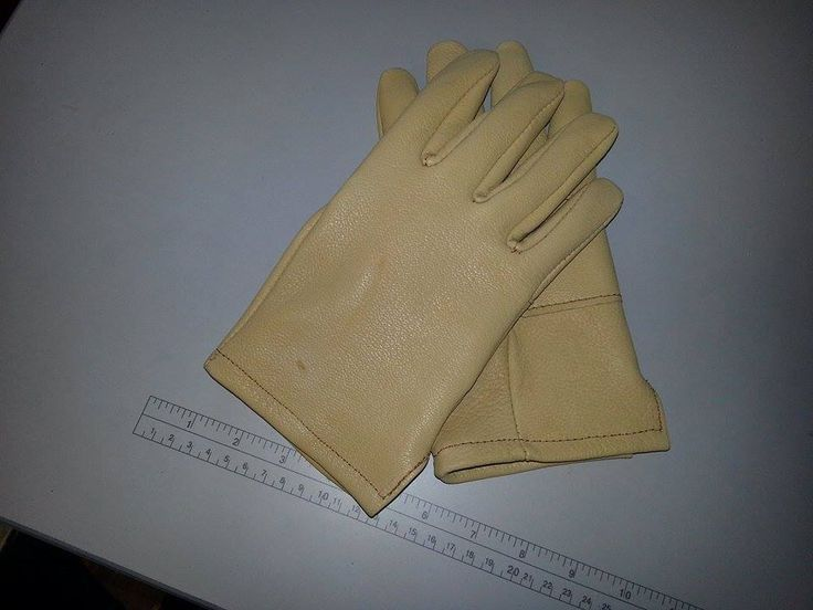 Tough Goatskin Leather Work Gloves, Double Palm. From Glove City Leather in Gloversville, NY.