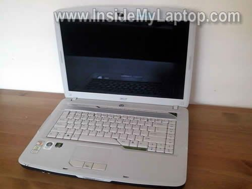 Acer Aspire 5520 disassembly