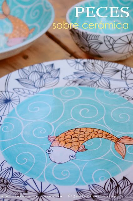 pintando cerámica | 613materika