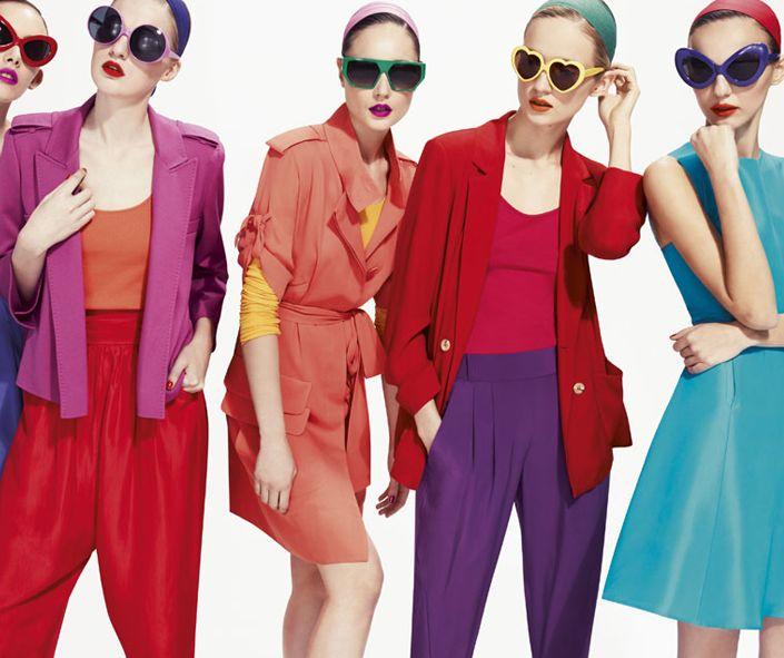 Dolapları rengarenk baharlık giysilerle renklendirmenin vakti geldi! Haydi alışverişe! :) #rengarenk #colorful #fashion #moda #bahar #spring