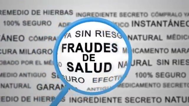 ¿Qué es el #FraudeDeSalud? Son productos que hacen afirmaciones no probadas para prevenir, tratar o curar enfermedades. MÁS INFORMACIÓN: https://go.usa.gov/xnU9P