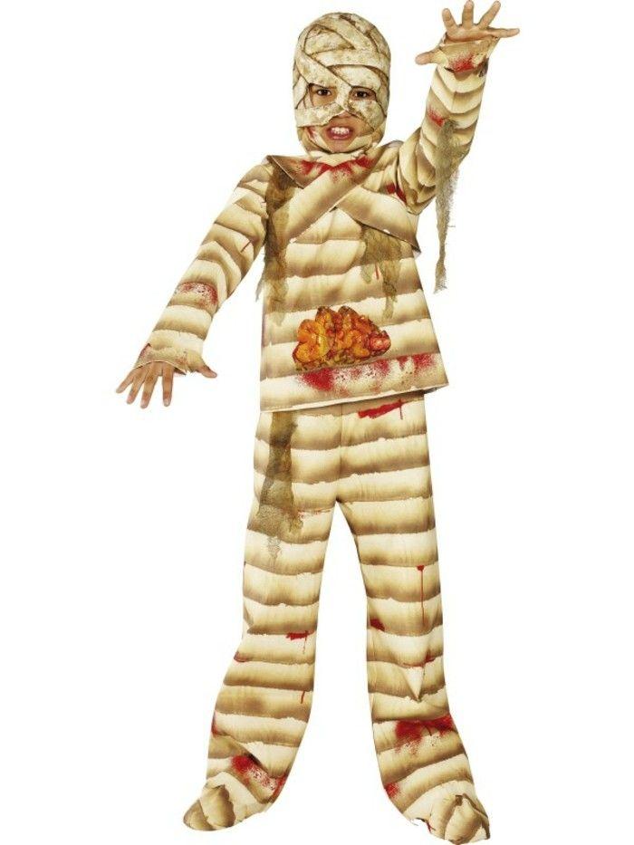 """costume enfant momie aux taches de """"sang"""" Rue de la fete"""