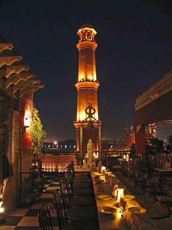 Tables and view, Cooco's Den Restaurant, Lahore | Art ...