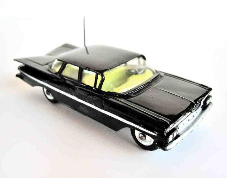 '59 Chevy Impala State Patrol Corgi car! Mine was white.
