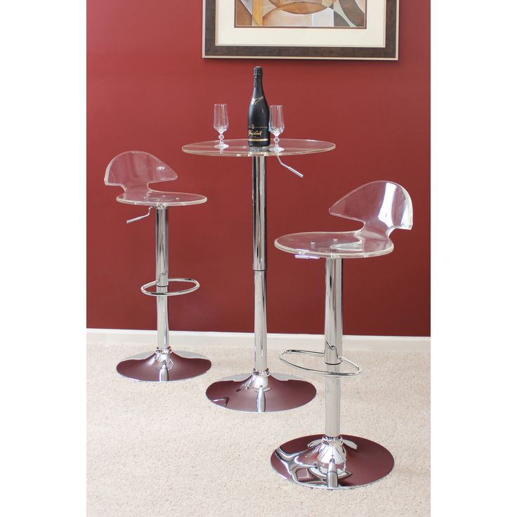 Venti Clear Acrylic Bar Stool | Overstock.com Shopping - The Best Deals on Bar Stools