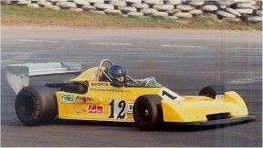 Antonia Loysen racing her Chevron