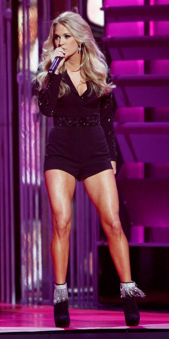 Carrie Underwood's 10 Different 2013 CMA Awards Looks - Chagoury Couture from #InStyle