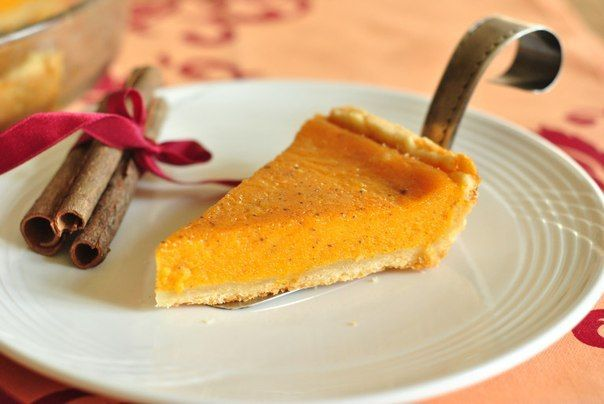 Christmas pumpkin pie with oranges | Many Tasty Recipes