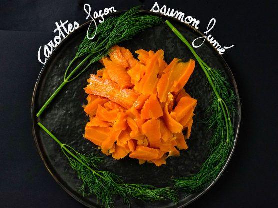 Carottes façon Saumon Fumé [Vegan + GF]