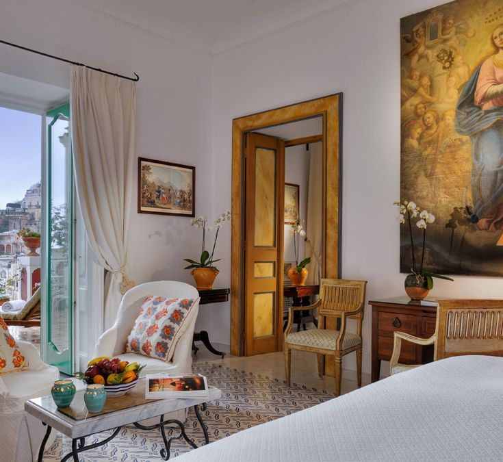 SUPER-LUXE: Discover the absolute ultimate in Italian glamour at Le Sirenuse Hotel, Positano. Visit us at www.thechictravelclub.com or join us on Facebook to be in the know! www.facebook.com/thechictravelclub