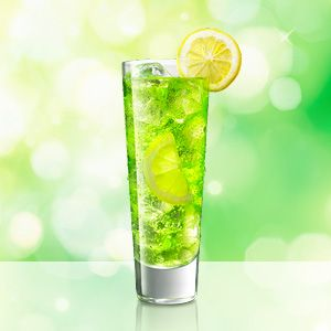 MIDORI Lemon-Lime Soda / MIDORI Lemonade is an easy to make cocktail using MIDORI.