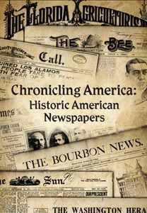 Chronicling America, the newspaper collection available for online research of United States historic newspapers, regularly updates their collection.