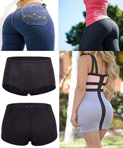 37864070006 FUT Forever Womens Silicone Buttock Hip Pads Hip Enhancer Shaper Butt  Lifter Underwear Panty