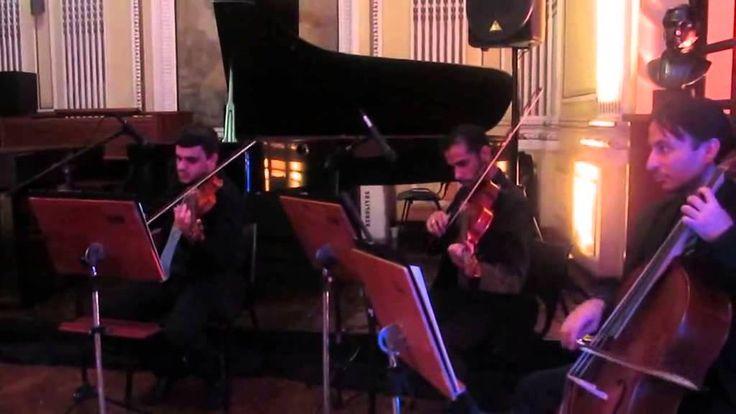 Música Viva La vida - Quarteto de cordas