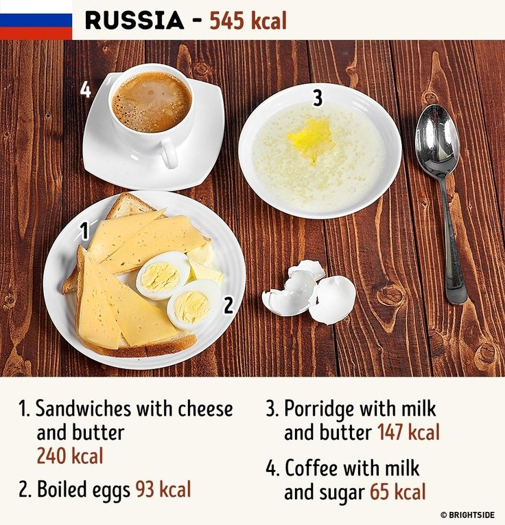 A new breakfast for us every day.