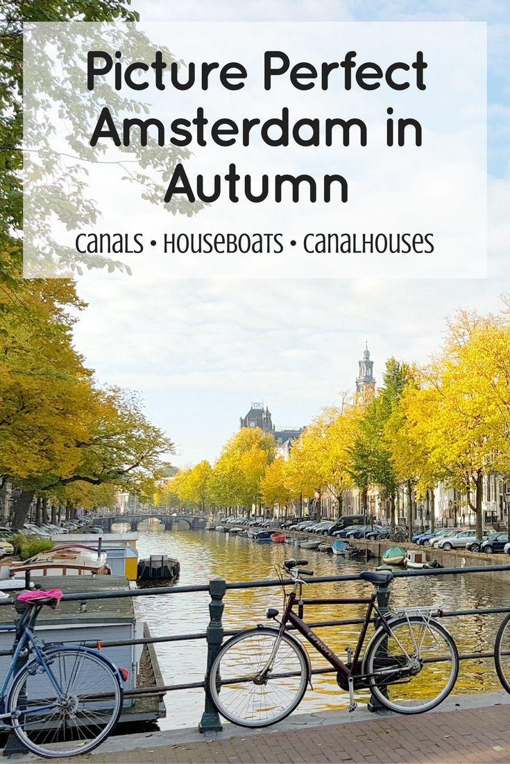 Amsterdam in Autumn Pin