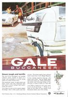 Gale Buccaneer Outboard Motor 1959 Ad Picture