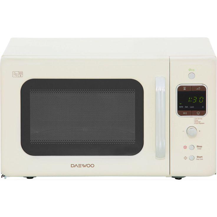 KOR7LBKC_CR | Daewoo Microwave | Cream | ao.com