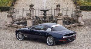 Custom bodywork makes the Maserati GranTurismo virtually unrecognizable.