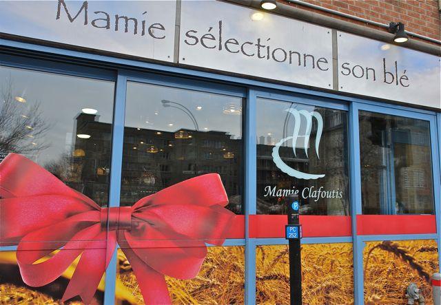 Montreal.French bakery, rue Saint Denis. Photo:T. Graffe