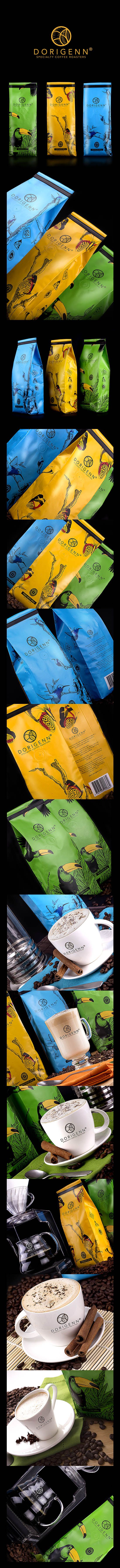 Packing Dorigenn Coffee Colombia