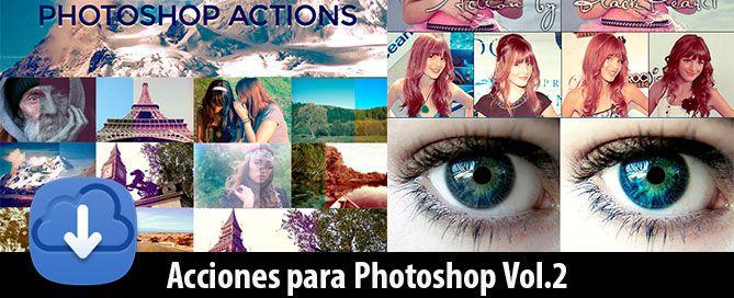 Como instalar y usar acciones para photoshop gratis. Automatismos para Photoshop, Descarga efectos, filtros, acciones para tus imagenes. Free Photoshop Actions