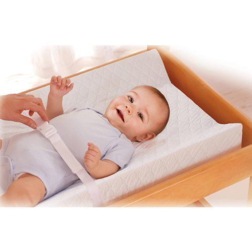 Baby Care Contoured Changing Soft Pad Waterproof White Clean Comfortable NEW #BabyCareChanging