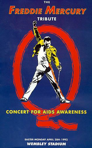 .Huge and brought awearness of AIDS worldwide. The bands and musicians were the who-whos of rock