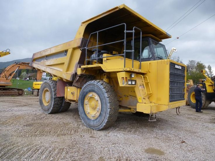 Great Price Dumper Komatsu HD405-6 Second Hand. Manufacture year: 2004. Working hours: 16000. Weight: 35000 kg. Excellent running condition. Ask us for price. Reference Number: AC950. Baurent Romania.