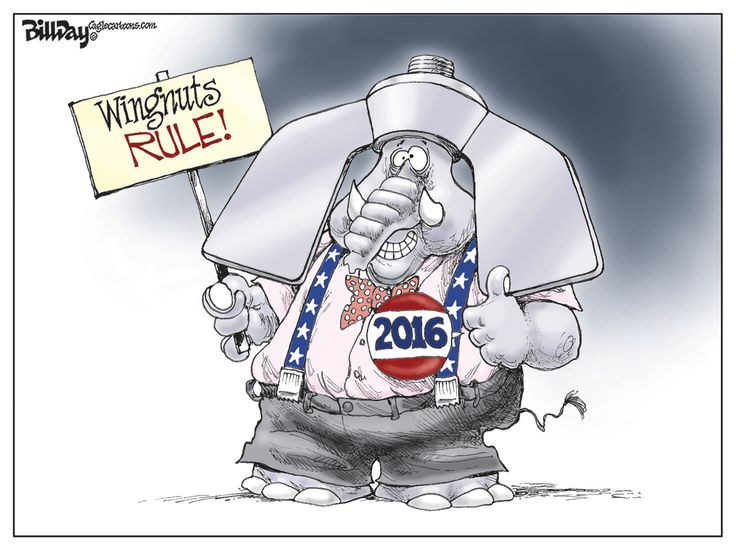Editorial Cartoon Wingnuts Rule (With images) Editorial