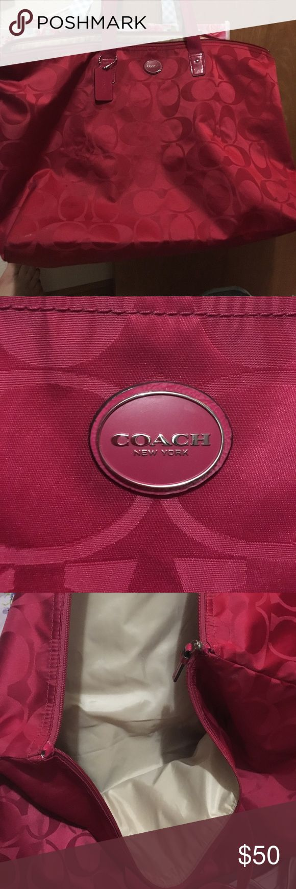 Coach travel bag. Coach travel bag. Great for business trips. Coach Bags Travel Bags